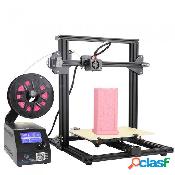 Creality3d cr-10mini alto rendimiento rendimiento impresora diy 3d - negro (enchufe de eu / ee. uu.)