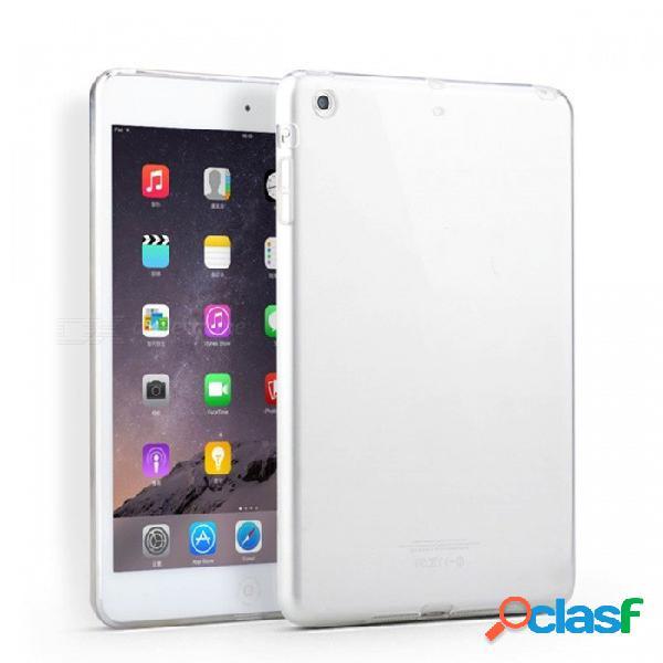 Funda protectora de silicona ultra-delgada kitbon funda protectora de piel tpu suave y clara para apple ipad mini 1 2 3