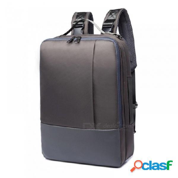 Mochila para portátil 15.6 pulgadas para hombre mochilas de moda para mochila mochila de viaje impermeable mochila de viaje mochila para la escuela de negocios bolsa