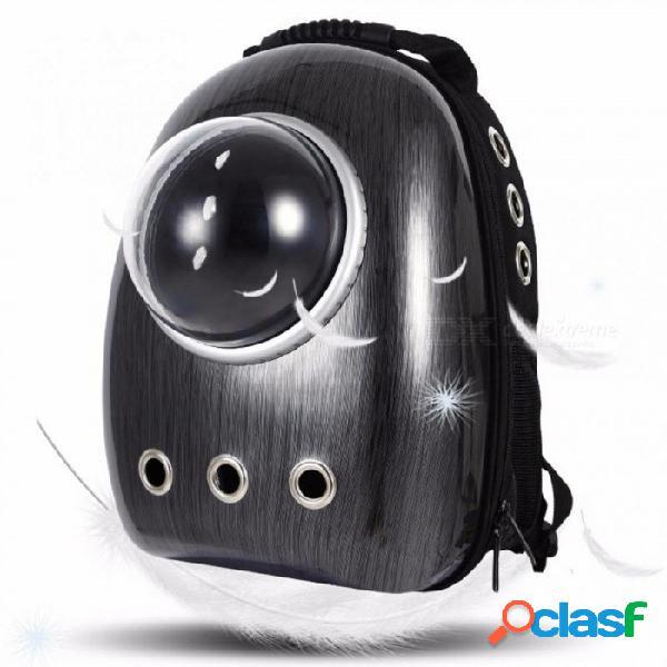 Portador del animal doméstico mochila bolso espacio cápsula transpirable impermeable portátil de viaje para perro gato