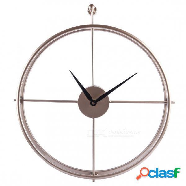 Único 55cm grande breve estilo europeo reloj de pared silencioso diseño moderno para la oficina en casa decoración colgante reloj de pared relojes negro