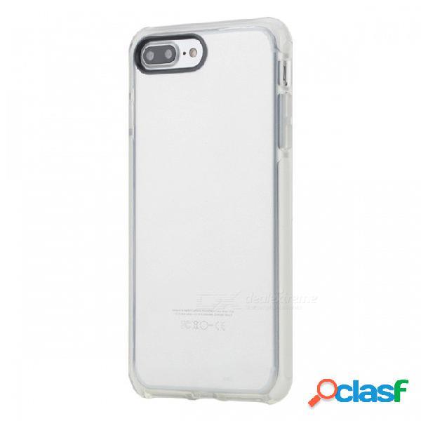 Funda protectora antideslumbramiento protectora rock tpu + tpe para iphone 7 plus / iphone 8 plus - blanco