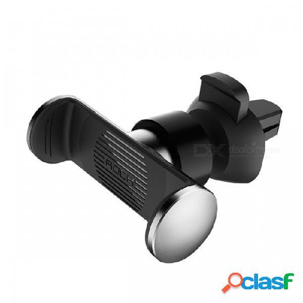 Soporte universal de soporte portátil de soporte de ventilación de aire para automóvil rock mini para teléfonos móviles