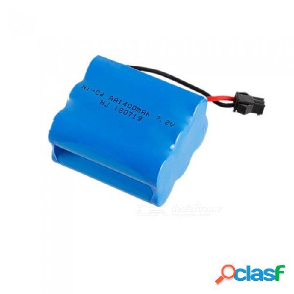 1 unids 7.2 v batería aa 1400 mah sm2p enchufe ni-cd paquete de baterías recargables para rc barco modelo coche eléctrico juguetes tanque