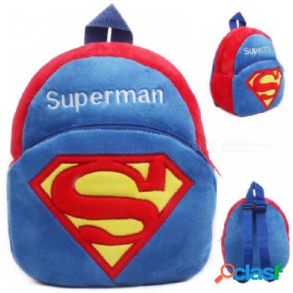 Niños de dibujos animados lindo juguete de la mochila de la felpa mini bolso de escuela regalos de los niños del jardín de la infancia bolsas de estudiante del bebé niña encantadora 14