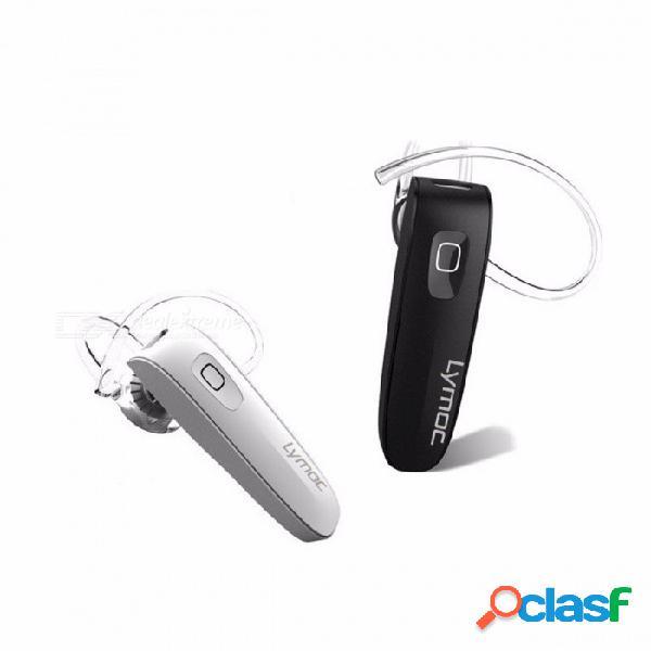 B1 auricular bluetooth, mini auriculares inalámbricos bluetooth v4.0 auricular w / hd micrófono manos libres para teléfono iphone xiaomi blanco