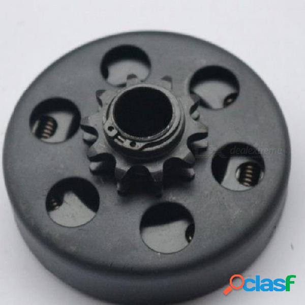 Para go kart minibike fun embrague automático centrífugo 20mm 10 dientes 420 cadena 168 motor con color negro negro