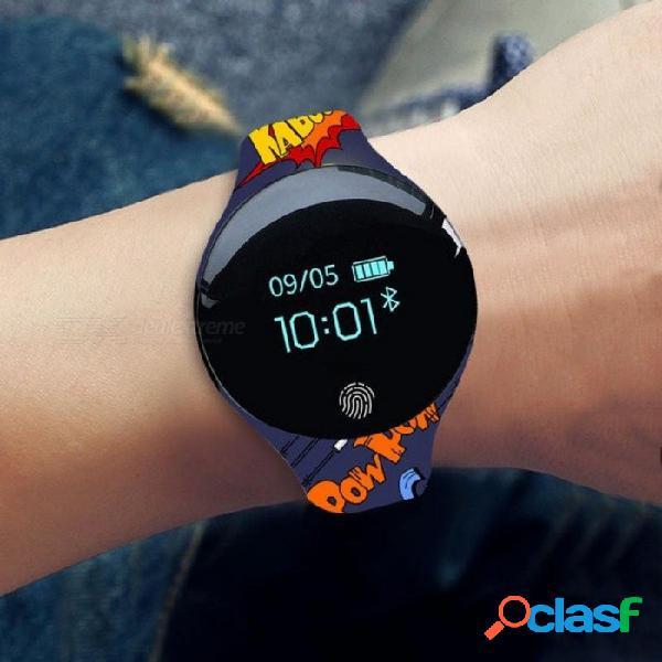 Reloj inteligente niños niños relojes para niñas niños electrónicos led reloj de pulsera digital reloj de pulsera horas reloj inteligente regalo negro blanco