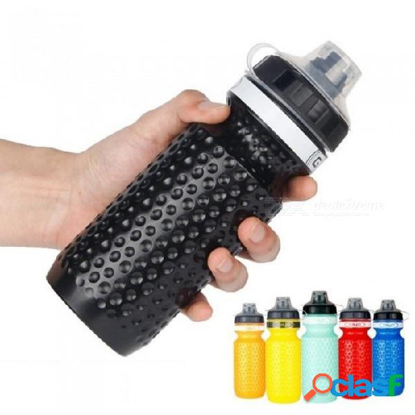 600ml bicycle water bottle mtb cycling water bottle camping hiking bicycle flask outdoor cup sport bike kettle water bottle white