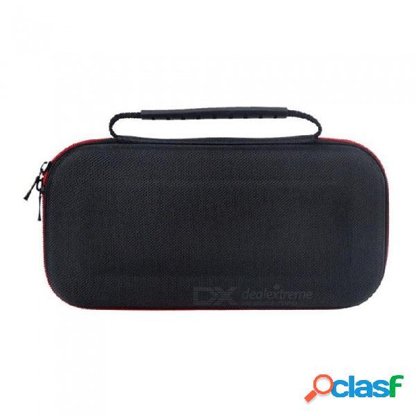 Bolsa protectora portátil de cáscara de eva estuche rígido bolsa de viaje para el interruptor de nintendo