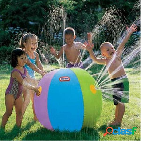 Inflable bola de agua de la playa al aire libre juego de césped bola de baño juguetes de baño juguete de playa juguetes de baño juguetes para niños bola de agua de la playa para niños