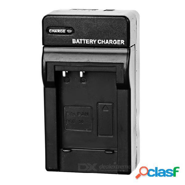 Base del cargador de batería de ca para la batería de la cámara digital panasonic bcg10 (100 ~ 240v)