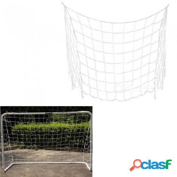 Fútbol fútbol objetivo red polipropileno fibra fútbol necesidad del deporte herramientas de entrenamiento del partido 1.2x0.8m a
