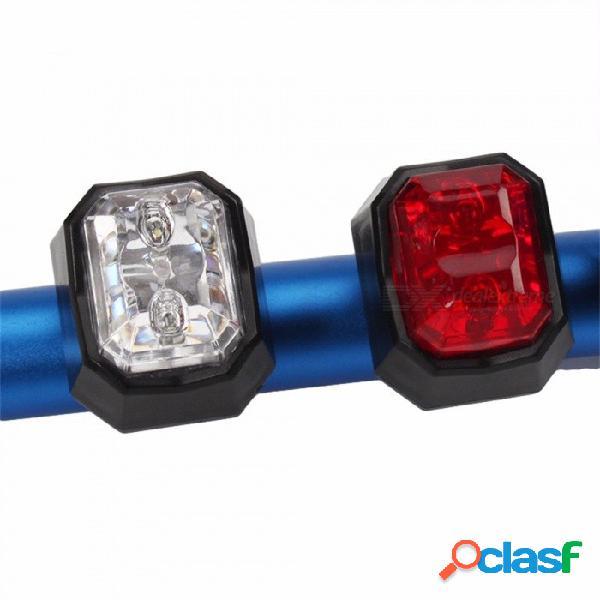 Luz trasera trasera de bicicleta de montaña recargable usb cob led, lámpara de advertencia de seguridad mtb, luz trasera de bicicleta
