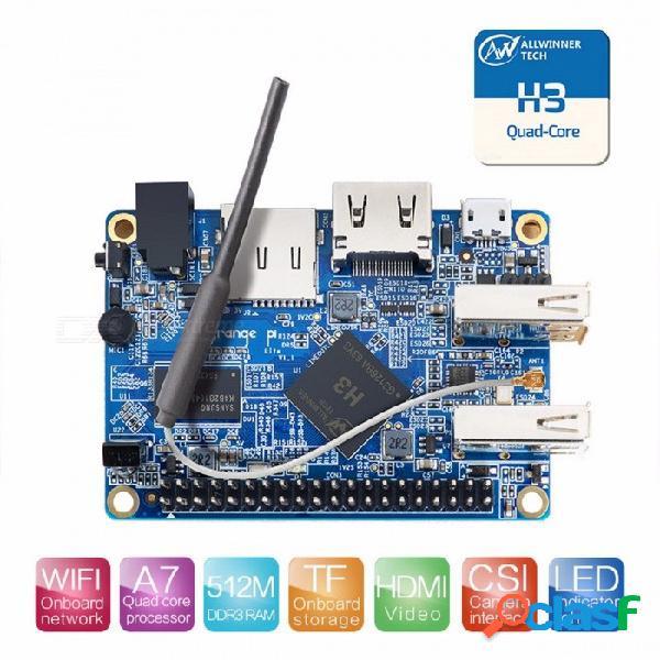 Naranja pi lite con quad core 1.2 ghz 512mb ddr3 wifi más allá de la pc de código abierto raspberry pi 2 para el proyecto diy que viene naranja pi lite