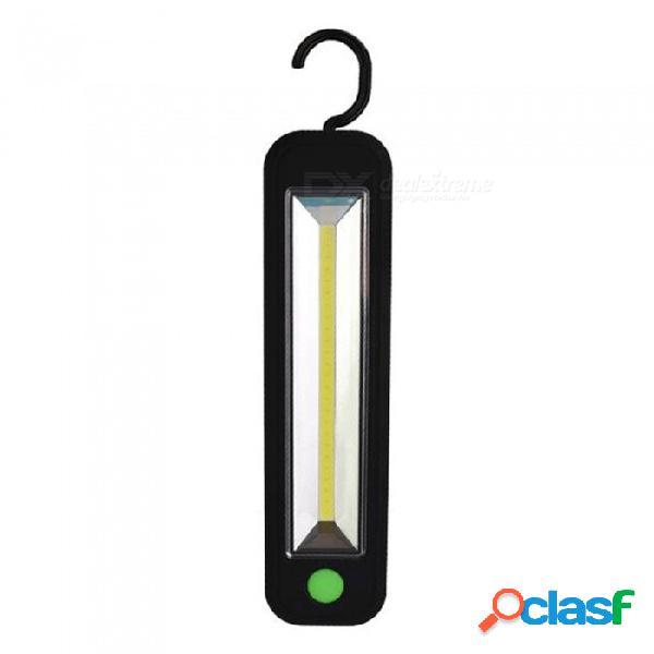 5w cob led luz de trabajo de luz magnética para acampar al aire libre lámpara de luz con gancho 5w / negro