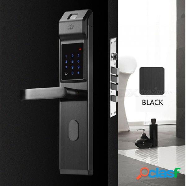 Bloqueo óptico del código de huella digital de zhaoyao, cerradura antirrobo inteligente de seguridad para el hogar, huella digital + contraseña + tarjeta + clave