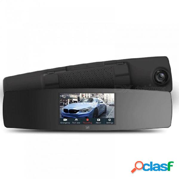 Dash cam dual dashboard camera recorder touch screen front rear view hd camera g sensor night vision parking monitor none/camera