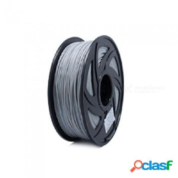 Diy impresora 3d filamento más colores opcionales pla1.75mm makerbot reprap plástico material de goma consumibles
