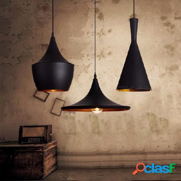 Estilo vintage lámpara de luz colgante europeo industrial viento e27 base droplight para restaurante habitación decoración del hogar