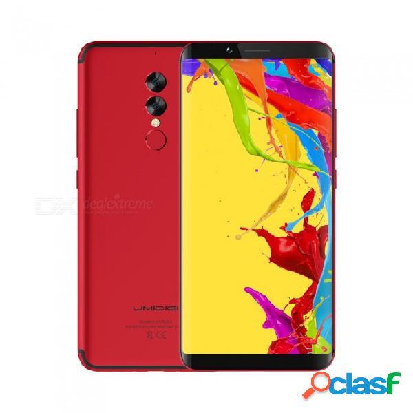 Telefono umidigi s2 lite 4g - rojo, 4 gb de ram, 32 gb de rom, id de rostro, batería de 5100 mh, cámara trasera de 16.0mp