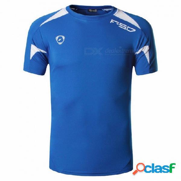 Camisetas deportivas de manga corta para hombre de verano al aire libre, ropa de secado rápido, camiseta de ciclismo de fitness lsl320