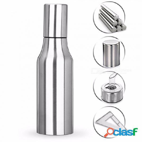 Herramienta de cocina a prueba de fugas para ollas de aceite de vinagre de acero inoxidable de primera calidad (750 ml)