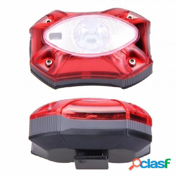 Luz trasera recargable de la lámpara de la cola de la bici del usb luz trasera, impermeable brillante de la lluvia led que enciende en bicicleta la bicicleta luz roja