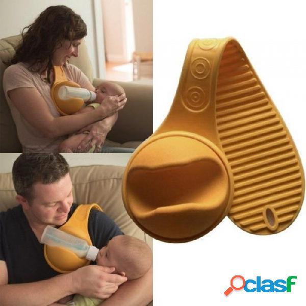 Manos libres para bebés soporte de biberón correa correa manos libres para la alimentación del cochecito soporte de fijación accesorios del cochecito llaves & apoya a