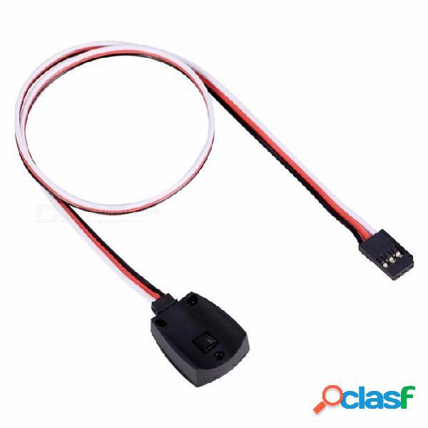 Sensor de cable de sonda de temperatura de alta calidad para imax b5 b6 b6ac cargador de batería lipo modelo cable de cable de sensor duradero negro