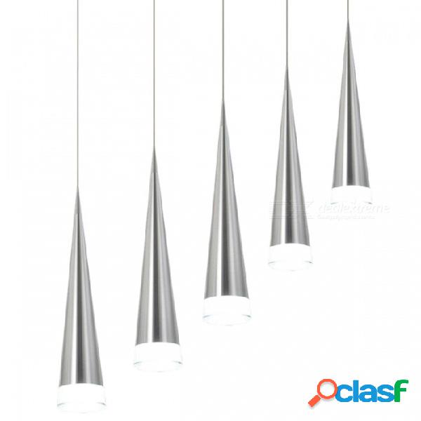 Moderna lámpara colgante de 5w led, lámpara de metal de moda para sala de estar, dormitorio, restaurante, decoración de cocina comedor