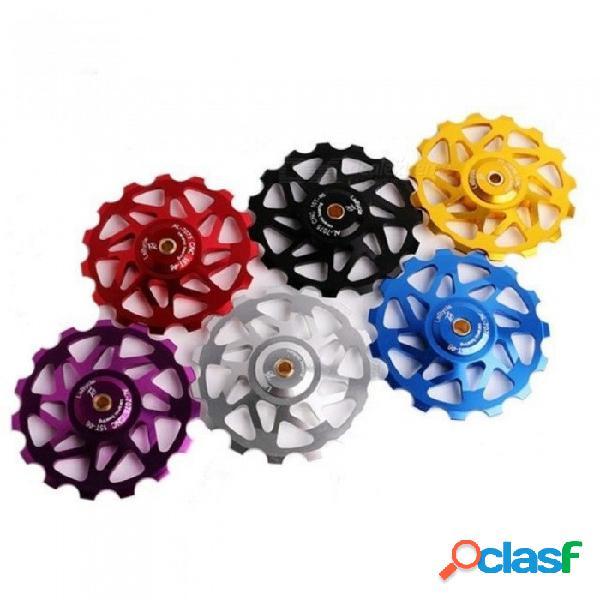 Accesorios para bicicletas fidget spinget engranaje de aleación de aluminio rodamiento de cerámica hand spinner con multicolor opcional azul