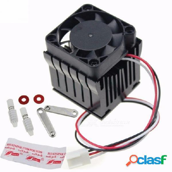 Premium 40mm x 10mm ventilador de refrigeración del disipador de calor, bricolaje northbridge cooler south north bridge radiador para computadora pc negro