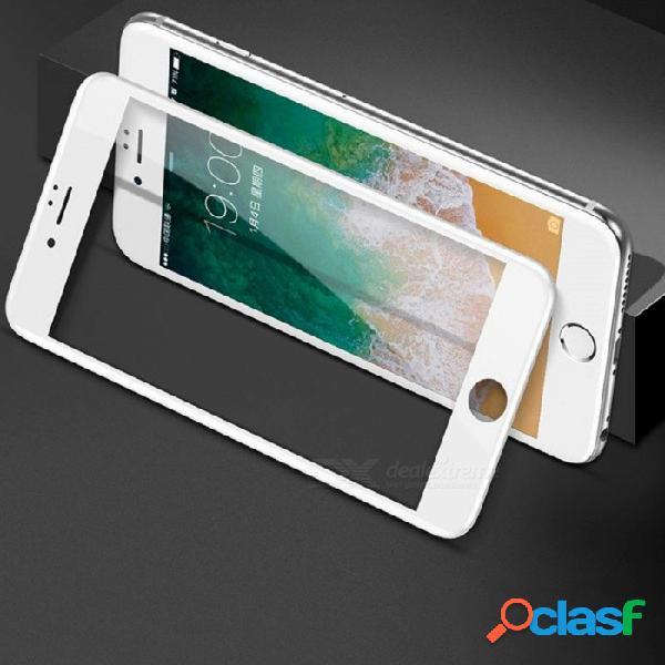 Baseus vidrio templado, cubierta completa, protector de pantalla, película de acero, vidrio protector endurecido para iphone 7 8 plus negro / iphone 7/8