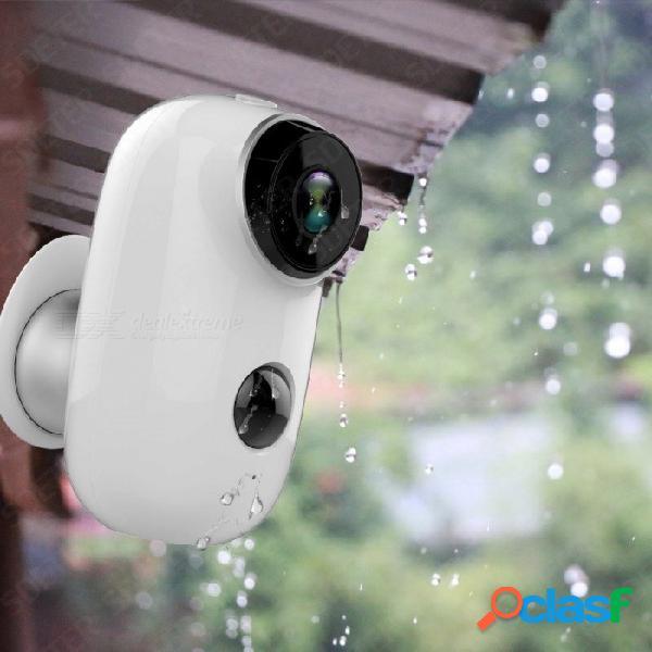 Hd 720p cámara ip inalámbrica a prueba de agua al aire libre visión nocturna control remoto 130 grados gran angular mini cámara de seguridad 1/4 / 750tvl / ntsc