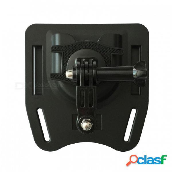 Ismartdigi ig-bm1 montaje del cinturón de la cámara para gopro hero 2 3 3+ 4 sesión 5 6 sj4000 - negro