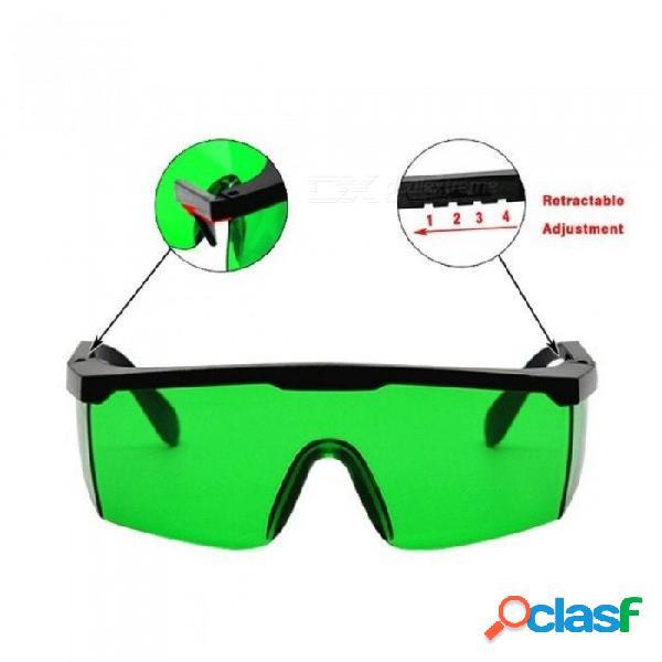 No hay gafas protectoras de gafas telescópicas de buena calidad disponibles con láser rojo y líneas de láser verde a