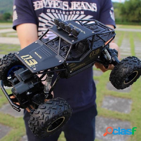 Rc coche 1/12 4wd rock crawlers 4x4 unidad de conducción doble motores unidad bigfoot modelo de coche de control remoto de coche de juguete todoterreno