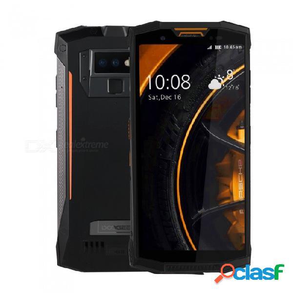 Doogee s80 lite full screen ip68 /ip69k/mil-std-810g 4g professional walkie-talkie rugged phone w/ 4gb ram, 64gb rom -orange