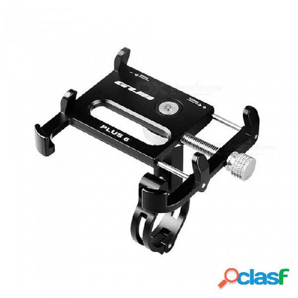 Esamact soporte para teléfono con bicicleta giratoria para 3.5-6.2 pulgadas teléfono inteligente soporte rotatorio de la motocicleta del soporte del teléfono de la bicicleta de gps de 360 gra
