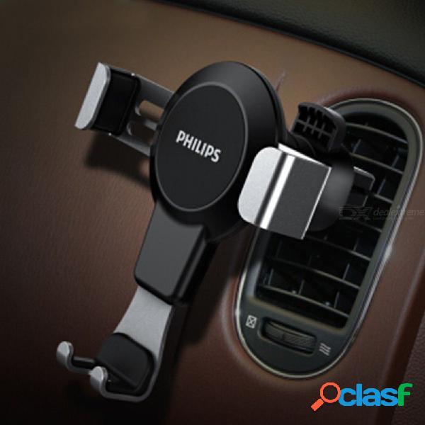 Philips dlk35008 universal debajo de 6 pulgadas de soporte de teléfono de automóvil rotativo a prueba de sacudidas