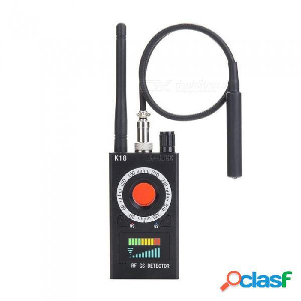 Detectores de rf detector de errores anti-espía cámara oculta buscador de barredor de errores de audio gsm señal de rf escáner de radio gps rastreador detectar