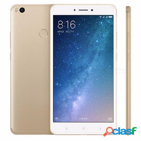 """Original xiaomi mi max 2 6.44 """"octa-core andriod 7.0 teléfono inteligente con 4 gb de ram 128 gb rom, 5300 mah batería, cámara de 12mp oro / 128 gb"""