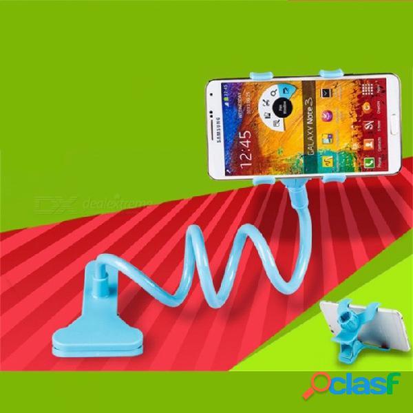 Soporte para teléfono móvil soporte de teléfono móvil flojo cabeza de cama espiral clip para teléfono multifunción soporte universal para teléfono