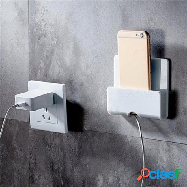 Soporte universal de pared para teléfono móvil cargador de cargador multifunción soporte de soporte de tableta soporte de tableta soporte para ipad para samsung negro