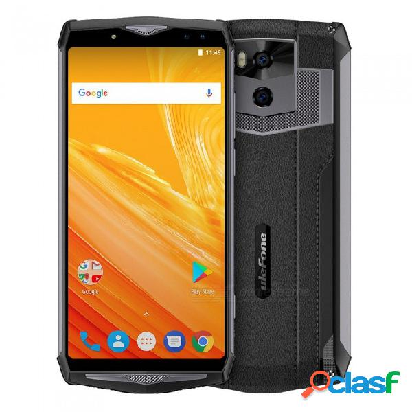 "Ulefone power 5 android 8.1 mtk6763 13000mah batería 6.0"" 18: 9 fhd carga inalámbrica 4g teléfono w / 6gb ram 64gb rom - gris oscuro"