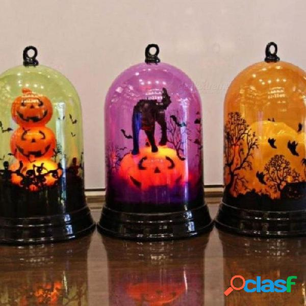 Llama luz linterna horrible led plástico halloween decoración atmósfera regalo con estilo multi para opciones 3