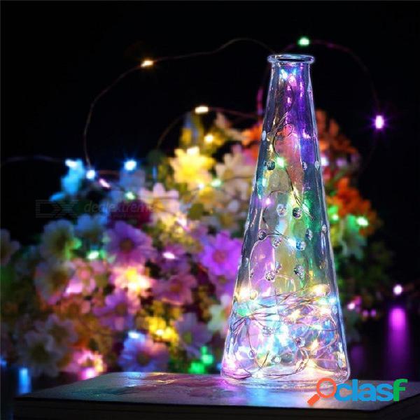 Luz de la secuencia del alambre de cobre 10m 100-led alimentado por usb, lámpara de hadas de la decoración al aire libre interior