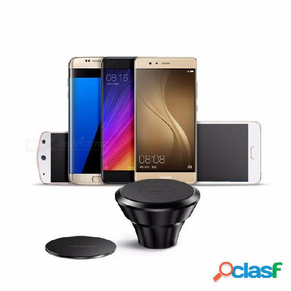Rock 360 grados giratorio soporte del teléfono del coche magnético soporte para iphone 8 7 samsung s9 gps universal soporte para teléfono móvil