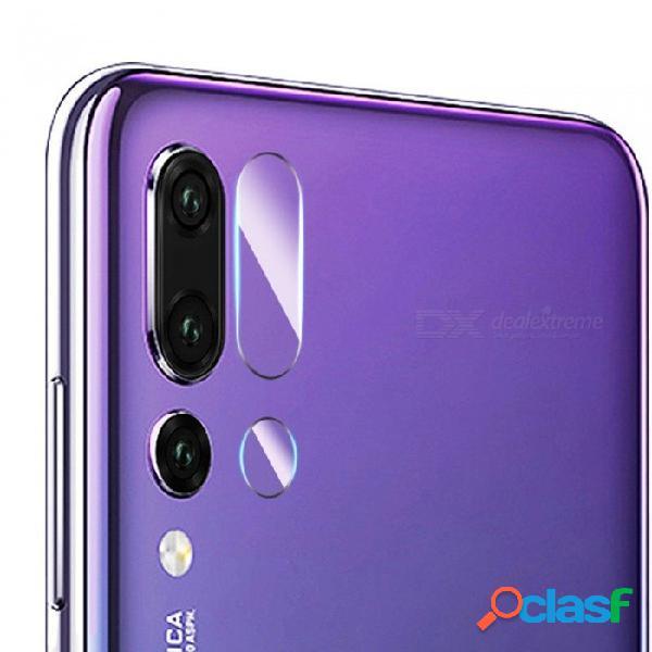 Teléfono móvil teléfono inteligente vidrio templado protector de lente de la cámara cámara protectora ultra hd para huawei p20 p20pro transparente / p10 plus